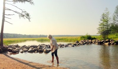 Wading in the Headwaters of the Mississippi