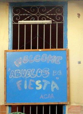 Welcom Abuelos