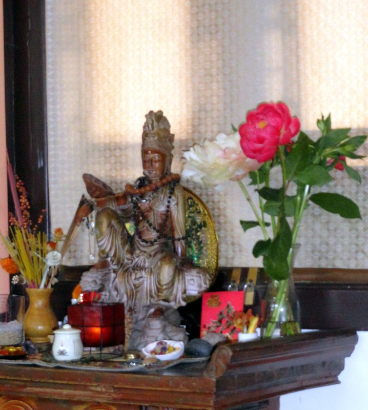 Altar in Teahouse