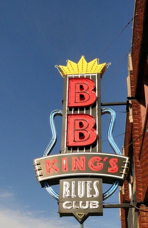 BB King's Blues Club Sign