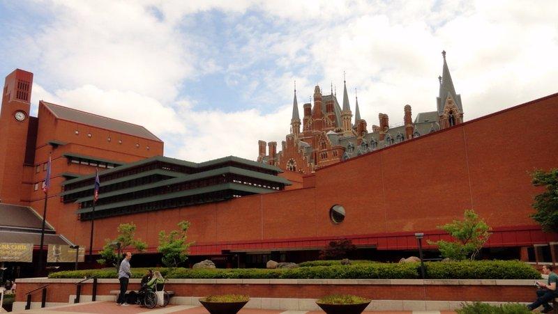 British Library and St Pancras