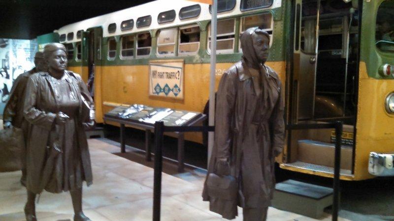 Bus Boycott Sculpture