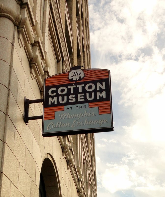 Cotton Museum Sign