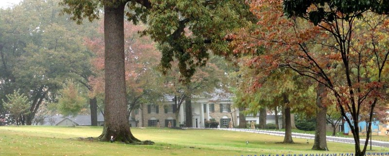 Graceland As Seen from the Street