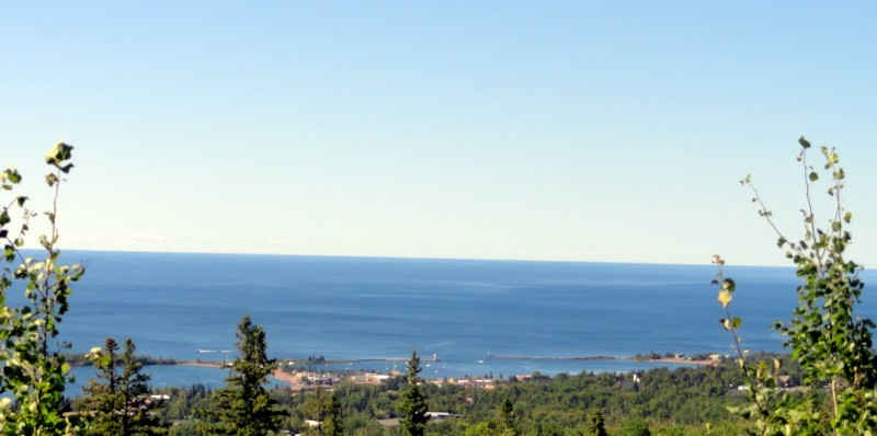 Grand Marais from the Hillside