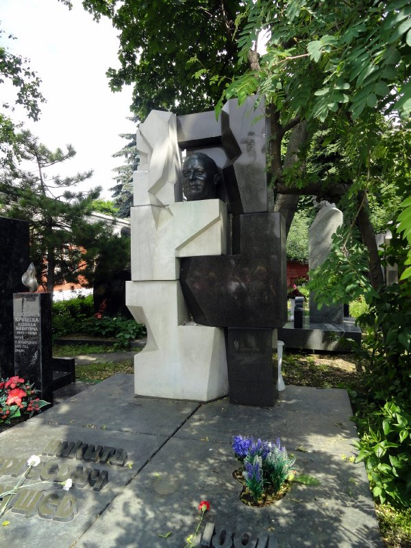 Grave of Kruschev