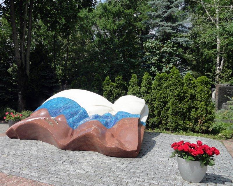Grave of Yeltsin