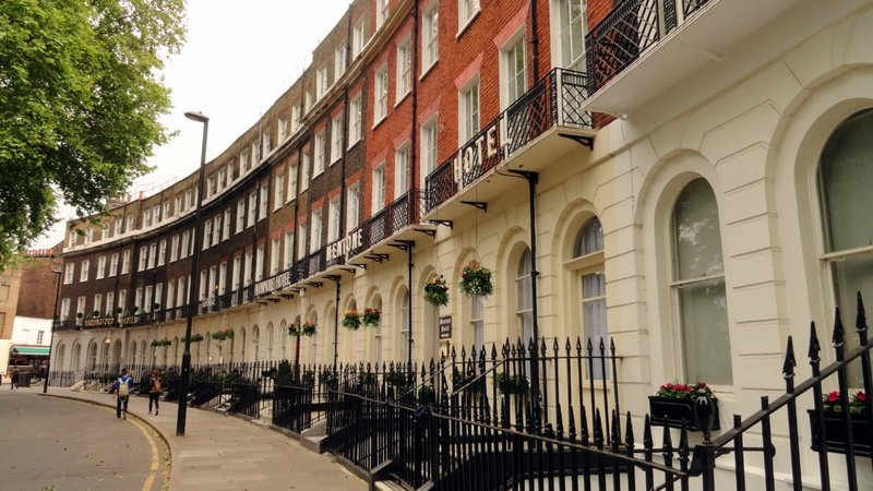 Hotel Row on Cartwright Park