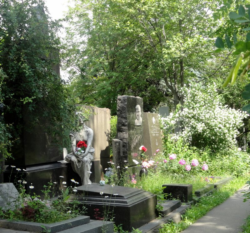 In Moscow Cemetary