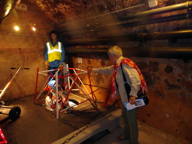 In On the Action at the Musee of Sewers