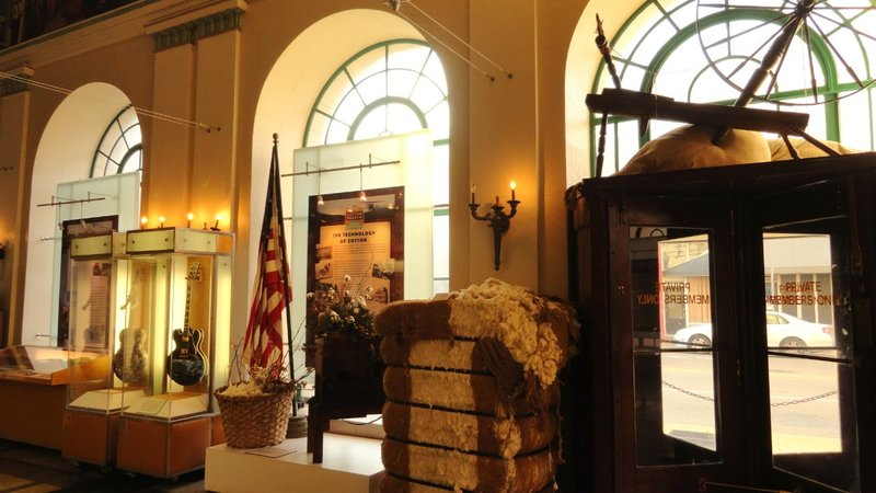 Inside the Cotton Museum