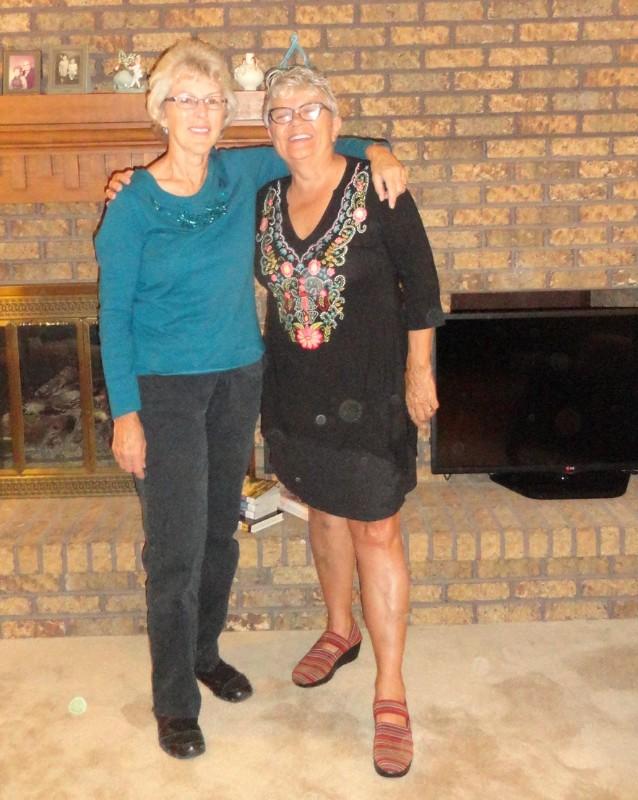 Judy and Paula