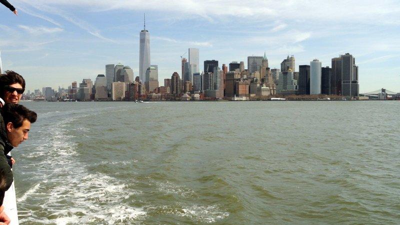 Manhattan from New York Bay