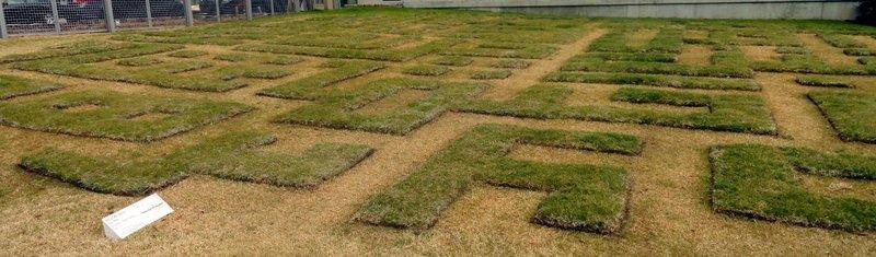 Maze of Art in the Garden