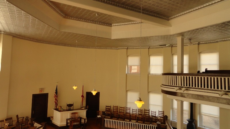 Monroeville Courtroom from the Balcony