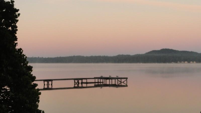 Morning on Bass Lake