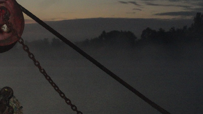 Ohio River Morning Mist