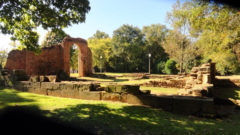 Original Alabama State Capitol Ruins