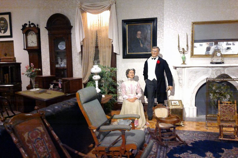 Pres and Mrs McKinley 1