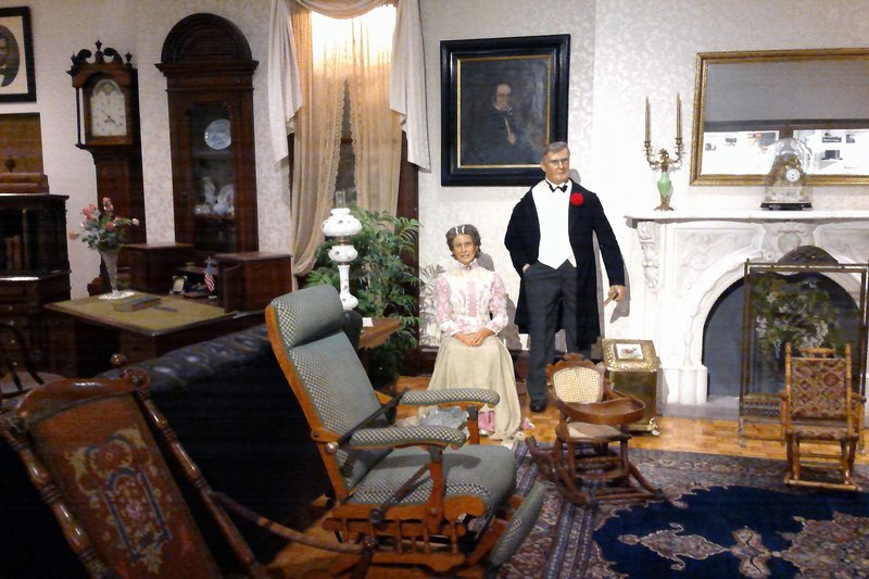 Pres and Ms McKinley 2