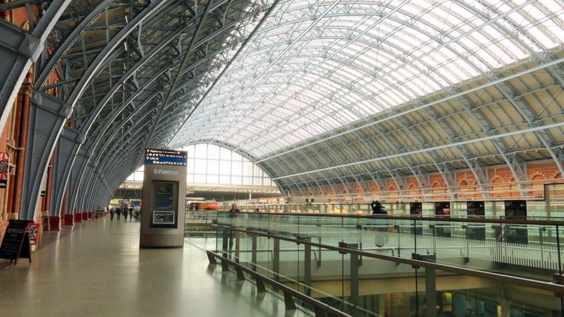 St Pancras Train Station
