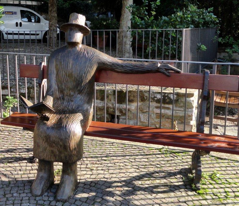 Statue in Rose Garden 3