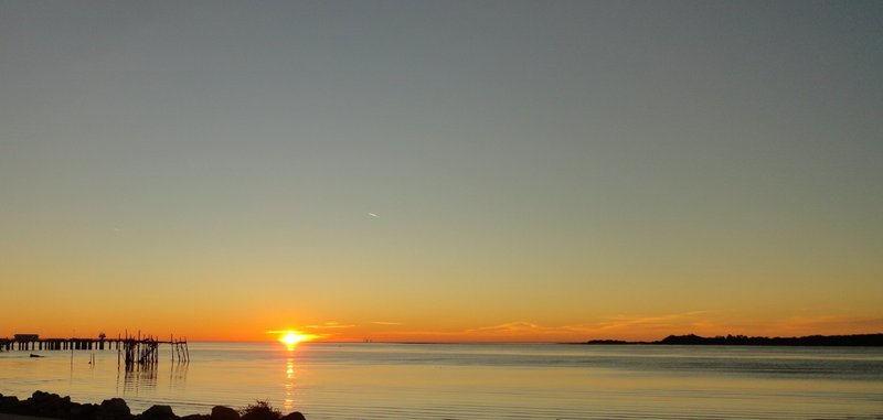 Sunrise Over the Keys