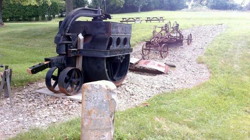 Very Early Paving Equipment