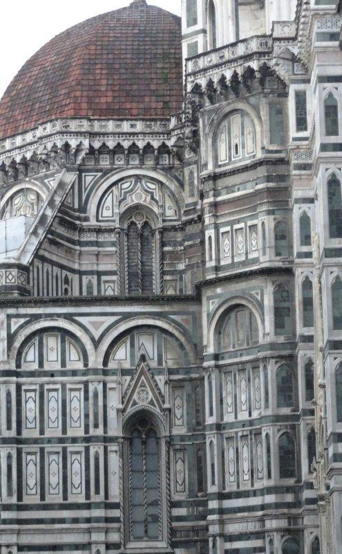 Wall of Duomo