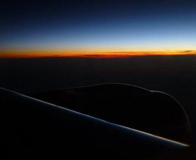 First Sunrise in Spain