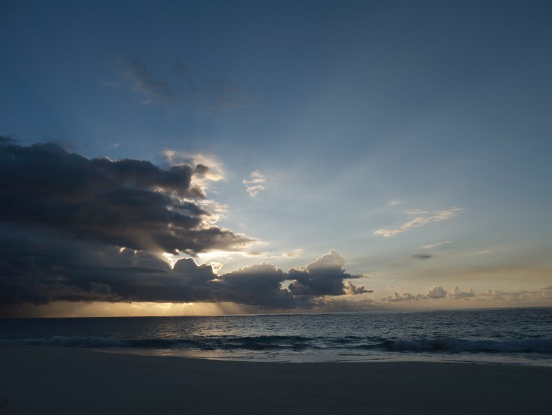 Sunrise at Elbow Beach