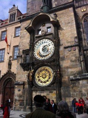 Orloj in the morning