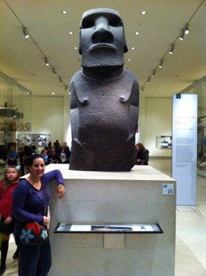 Easter Island Statue - British Museum