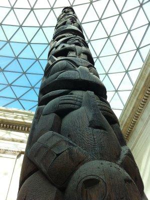 Totem Pole - British Museum