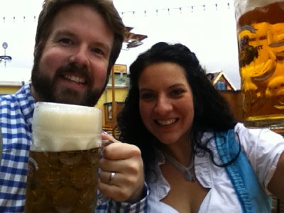 Big Smiles and Big Steins