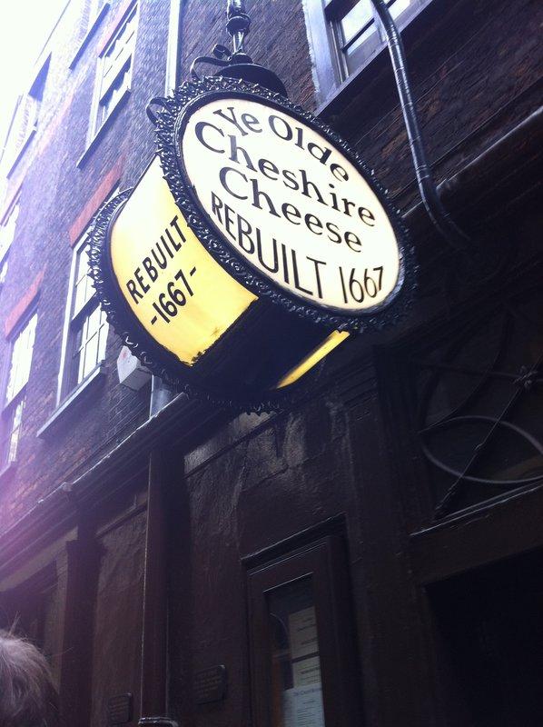 Ye Olde Cheese!