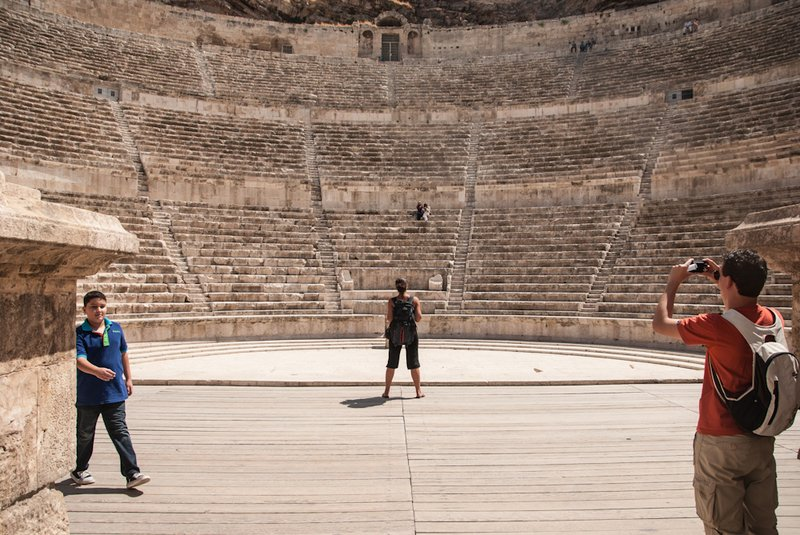 Amman - Roman theater