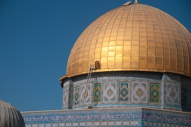 Jerusalem - The Dome on the rock - ladder to Heaven