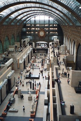 Where's that Musee D'Orsay train people keep talking about?