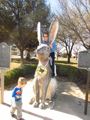 The World's Largest Jack Rabbit