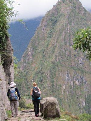 Final Stretch on the Inca Trail to Machu Picchu