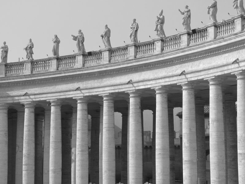 Vatican City Pillars
