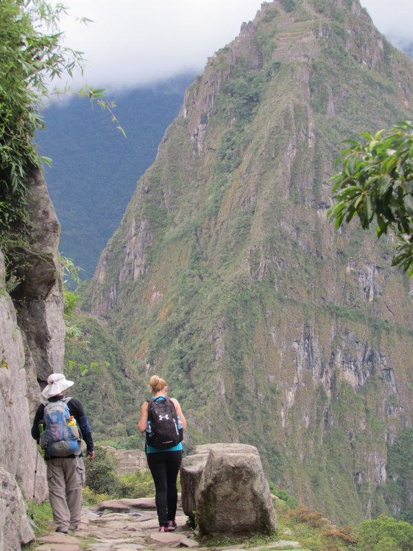 Final Stretch on the Inca Trail to Machu Picchu