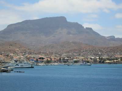 -Mindelo harbor