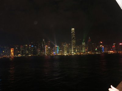 HK by night