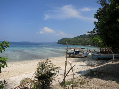 Beach on Palau Weh