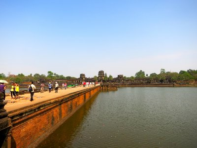 Angkor Wat and moat