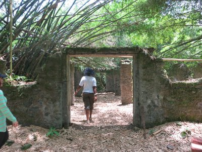 Bimbia slave quarters