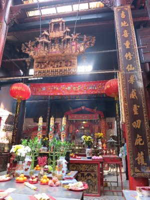 Buddhist temple in Panang