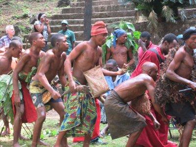 Cameroon dancers
